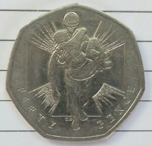 VC heroes 50p coin 2006