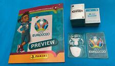 Panini Stickers Euro 2020 Preview Album + Tutte le 568 figurine da attaccare