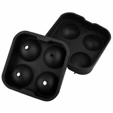 TRIXES Silicone Ice Ball Mould 4 x Ice Balls Spheres
