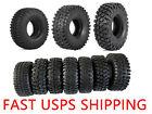 """4Pcs 1.9""""  Tires Tyres w Foam for 1/10 D90 TRX4 Gen8 SCX10 CC01 RC Rock Crawler"""