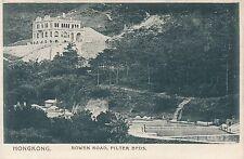 Postcard Hong Kong Bowen road filter beds pictorial postcard co  32