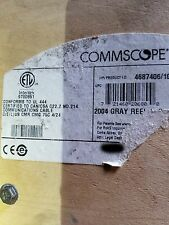 Commscope 2004 24/4P ICat5e F/UTP Multi-Shielded Industrial Network Cable /100ft