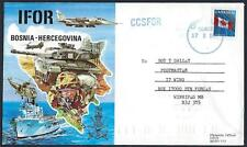 CANADA 1990's CANADIAN SPECIAL FORCES IN BOSNIA HERCEGOVINA CEPO DATED CANCEL TO