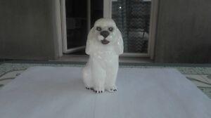 Dog Ceramic Figuras White Cocker Blanco Estatuilla Perro Cerámica 15CM