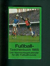 Fußball Taschenbuch Nachschlagekalender für Fußballfreunde Kalender 1985 Fotos