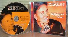 WOLFGANG ZIEGLER - Willkommen in meinem Leben  (2003)  MIT AUTOGRAM