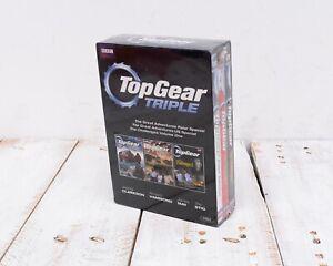 Brand New Sealed DVD TOP GEAR TRIPLE POLAR US CHALLENGES SPECIALS BBC BOX SET