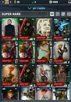 Star Wars Card Trader pick any 9 cards from Thundergirl 2:1 account