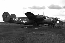 #173 B-24 Liberator B-24L-20-CO Navy PB4Y-1P 44-41772 Naples Studio Photo 8x12
