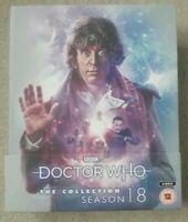 Doctor Who: The Colección - Completo Temporada 18 - Blu-Ray Caja Set Nuevo &
