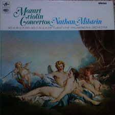 SAX 5254 Mozart Violin Concerts / Nathan Milstein E/R