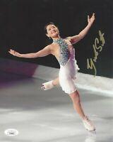 Yuka Sato Signed 8x10 Photo JSA COA Autograph Figure Skater Japan