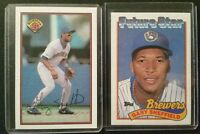 1989 Bowman & Topps  GARY SHEFFIELD  RC (2) Card Lot! (NM-MT)*L@@K* *FREE SHIP*
