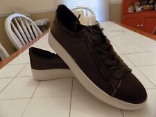 Women's Satin Lace Up Platform Sneakers Tennis Shoes Mossimo Supply Size 11