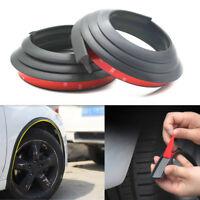 2Pcs Rubber Pad Car Wheel Arch Trim Fender Flare Wheel Eyebrow Protector Strip