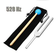☆ 528HZ Aluminum Medical Tuning Fork Chakra Hammer Ball Diagnostic + Mallet  Set