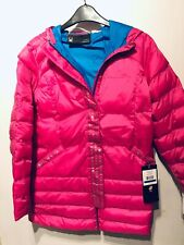Lady  Spyder Down Puffer Nylon Size Fits S pink New RRP £169