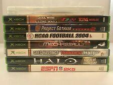 Microsoft Xbox Original Games PICK & CHOOSE Video Games LOT Ships Free/Fast!