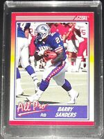 1990 BARRY SANDERS - ALL PRO - DETROIT LIONS - Score NFL Football Card #580