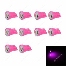 10pcs Pink T10 W5W 1SMD 5050 LED Car Clearance Lamp Roof Light Reading Bulb 12V