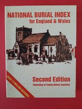 More details for national burial index for england & wales - 2nd edition family history