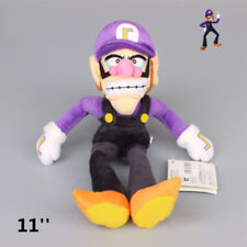 Super Mario Doll Soft purple Waluigi Plush Toy Kid Stuffed Stuffed Birthday Gift