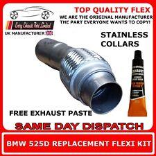 BMW 525D 530D E60,E61 Échappement Flexi Flexible Tuyau Réparation pour DPF