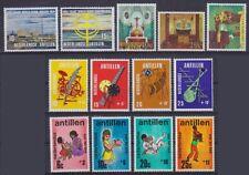 Niederl. Antillen MI Nr. 215 - 227 **, 1970 komplett, Sammlung, postfrisch, MNH
