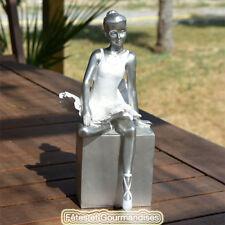 4b9d176aef591 Articles de maison argentés ballerine pour fête et occasion spéciale ...