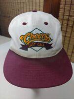 Cheers Snapback Hat TV Show Last Call Baseball Cap Classic Memorabilia Vintage