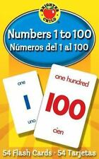 Numbers 1 To 100 Flash Cards: Nmeros Del 1 Al 100 (brighter Child Flash Cards...