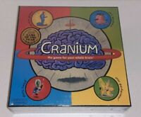 Cranium Games 2002 Board Game The Game For Your Whole Brain Brand New Sealed