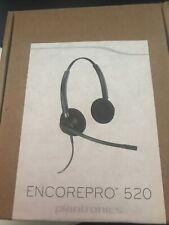 Plantronics EncorePro HW520 Black Headband Headsets (new)