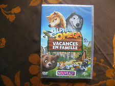 """DVD ALPHA ET OMEGA """"Vacances En Famille""""  (2015)  Neuf Sous Blister"""