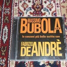 Massimo Bubola: le più belle canzoni scritte con Fabrizio De Andrè. Live *Nuovo*