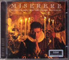 Miserere ALLEGRI Mariella gesualso planchant Gabrieli Bach Westminster Neary CD
