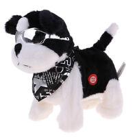 Battery Operated Walking & Singing Dog Plush Toy Gift Stuffed Animal Dolls