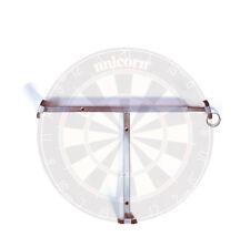 UNICORN T BAR DELUXE DARTBOARD WALL CLAMP - DART BOARD FIXING KIT SPRING BRACKET