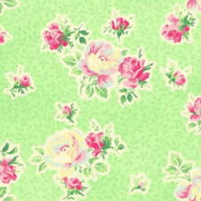 SALE! Cottage Chic & Shabby Mary Rose Sweet Charms MR2150-15D Green Fabric BTY