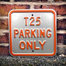 VW t25 parcheggio solo Heavy Duty in acciaio In Metallo Muro Firmare Camper 30x30 50842