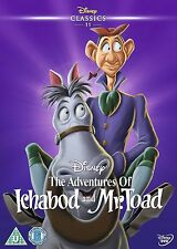 THE ADVENTURES OF ICHABOD AND MR TOAD  - LIMITED EDITION O RING WITH DVD