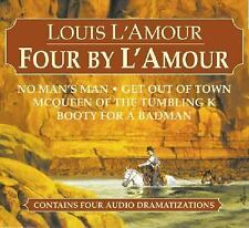 Louis L'Amour Ser.: Four by l'Amour : No Man's Man, Get Out of Town - McQueen...
