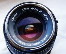Used Canon FD 35mm f2 SSC CANON PRIME LENS RARE