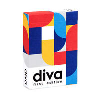 Playing Cards Diva 1st Edition New Sealed Deck **FREE SHIPPING USA**