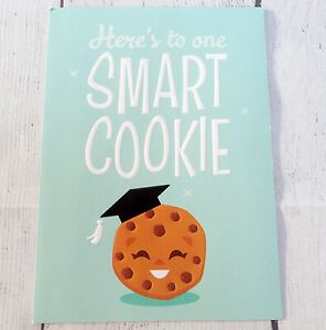 Happy Graduation Day Card ONE SMART COOKIE