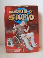 World of Stupid DVD Box Set 3 Disc Collector's Edition Tin