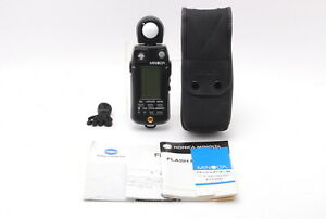 Almost Unused In Case Minolta Flash Meter VI Light Meter From Japan
