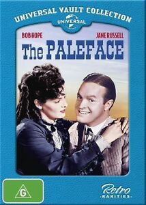 THE PALEFACE DVD - BRAND NEW - BOB HOPE JANE RUSSELL - FREE POST!