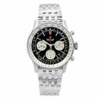 Breitling Navitimer 1 Steel Black Dial Automatic Mens Watch AB012121/B1A1-450A