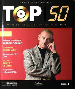 LIVRE + CD EDITION LA COLLECTION OFFICIELLE TOP 50 SHELLER 1991 TRES BON ETAT
